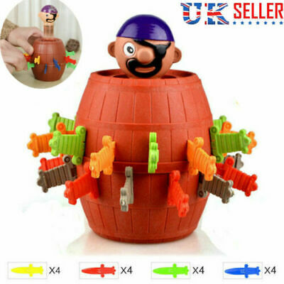 Kids Super Pop Up  Toy Jumping Pirate Board Game Children's day Funny Tricky Toy