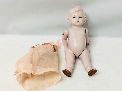 ANTIQUE SMALL GERMAN PORCELAIN BABY DOLL Absolutely Beautiful 5.5 Inches Tall