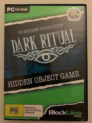 Dark Ritual The Blackwood Mansion Mystery PC Game Hidden Object Puzzle Adventure