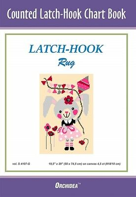 Counted Latch hook Chart Mouse & Kite 90x134 holes 46x69cm 3 purchase options