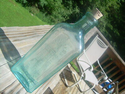 Antique Dr. Kilmer's Swamp Root Medicine Bottle. Binghamton, N.y., U.s.a. W/Cork