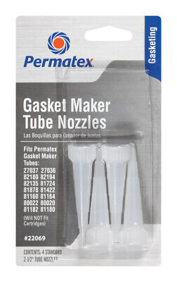 Permatex  Type-1  Gasket Maker Nozzle  4 oz.