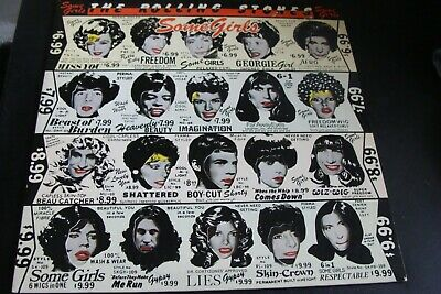 The Rolling Stones Some Girls W/ Original Banned Cover