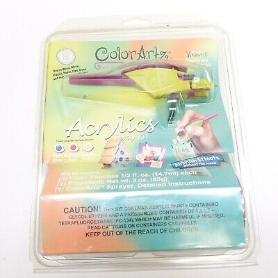Testors V4009 ColorArtz Visions Acrylics Spray Kit