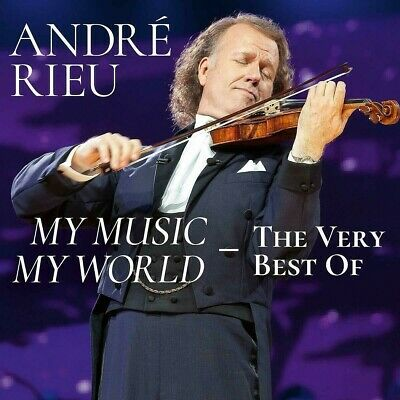 ANDRE RIEU MY MUSIC MY WORLD 2 CD SET Released 20-09-2019