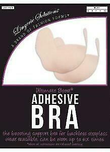 Fashion Forms Lingerie Solutions Ultimate Boost Adhesive Bra Nude