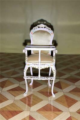 MINIATURE DOLLHOUSE 1:12 SCALE BESPAQ MARITZA VALENTINA SWEDISH CHAIR-MM-027-KW