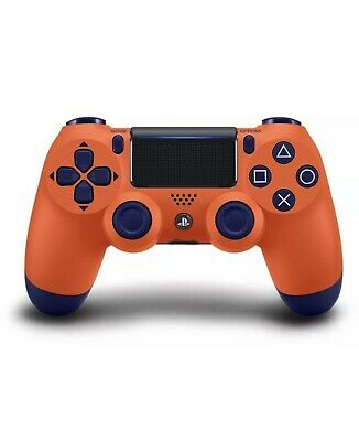 Wireless Bluetooth Gamepad Controller for Dualshock PS4  Sunset Orange Joystick
