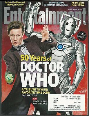 Entertainment Weekly Magazine March 29, 2013 50 Years of Doctor Who/Chris O'Dowd
