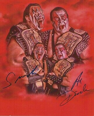 WWE DEMOLITION AX & SMASH Autographed 8x10 - WWE Pic2
