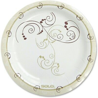 Solo Heavyweight Paper Plates (mp9j8001ct)
