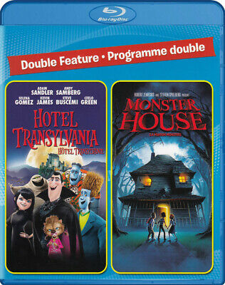Hotel Transylvania / Monster House (Double Feature) (Blu-Ray) (Bilingu (Blu-Ray)