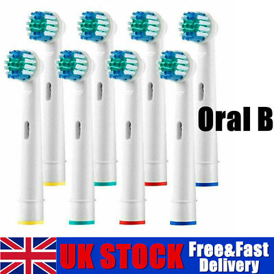 Electric Toothbrush Heads Compatible With Oral B Braun Toothbrush Head Uk Pack