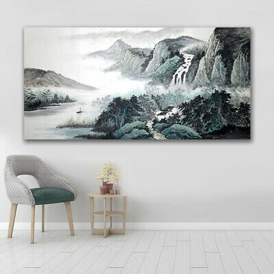 Art Collection Canvas Print Home Poster Living Room Hanging Picture Frameless