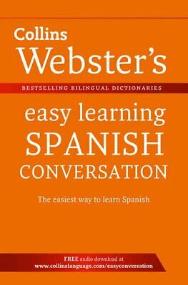 Webster's Easy Learning Spanish Conversatio... by Collins Dictionaries Paperback