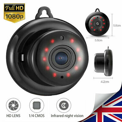 Mini HD 1080P Wireless WIFI IP Smart Camera Smart Home Security Cam Night Vision