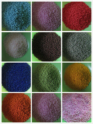 225g Glass Seed Beads 2mm 11/0 Opaque (15000) Chose 35 Colours UK Seller Free PP