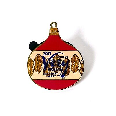 Mickey's Very Merry Christmas Party Ornament Artist Proof AP Disney Pin