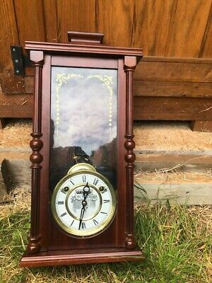 , Old Vintage Wooden Ian Grandfather clock. In Good Condition