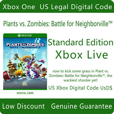 Plants vs. Zombies: Battle for Neighborville Standard Edition For Xbox One DC