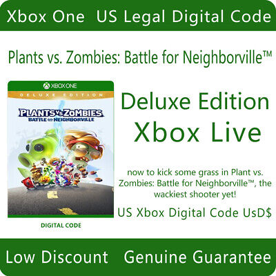 Plants vs. Zombies: Battle for Neighborville Deluxe Edition For Xbox One DC
