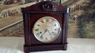 Edwardian  Mantle clock in excellent restored serviced working condition