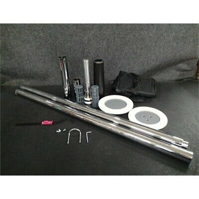 Pro-Fit Portable Spinning Dance Pole with Carry Bag & Attachable Light MFP-045*