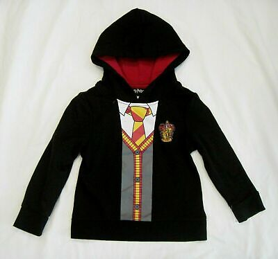 Harry Potter Girls' Pullover Hoodie Sweatshirt with Glittery Hogwarts Crest