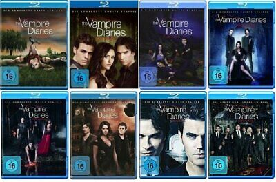 Complete TV Series the Vampire Diaries Season 1 2 3 4 5 6 7 8 Blu-Ray Collection