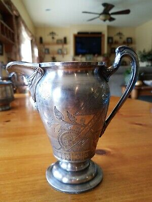 Reed And Barton Silver Pitcher Unique