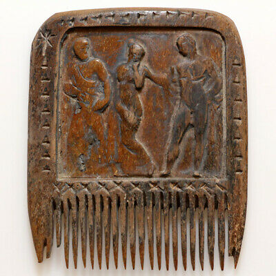 Scarce-Circa 700-1400 Ad Greek B0Ne Comb - With Nice Depictions