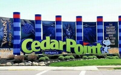 8 Cedar point tickets For HALLOW WEEKENDS