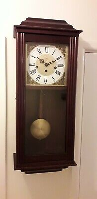 Wall Clock Acctim England (Hermle German Movement) On Off Westminster Chimes