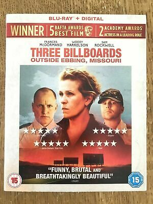 Three Billboards Outside Ebbing, Missouri Bluray In Slip Cover