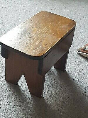 Vintage/Antique Wood milking stool