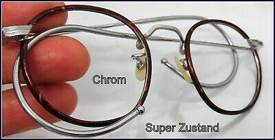 Windsorring Chrom Marken  Brillen Gestell HORIZON   Art Deco Optiker  Saml 1920