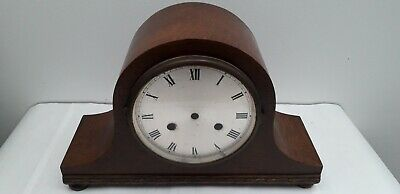 Nelson Top Hat Mantle Clock Case Lovely Condition (Spares & Repairs) Bargain