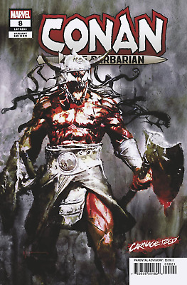Conan the Barbarian #8 Carnage-ized Variant Comic Book 2019 - Marvel