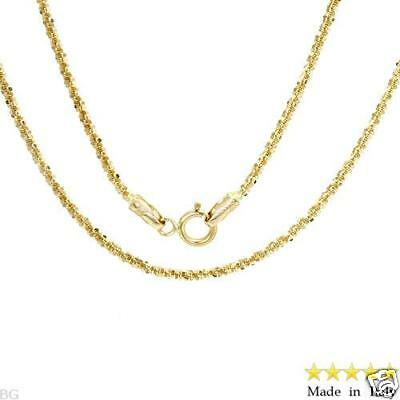 Beautiful Italian 16.5 Inch Chain 14K Solid Yellow Gold,Weight 2.7Gr. New