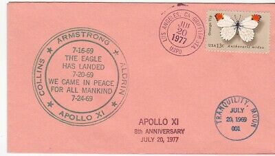 THE EAGLE HAS LANDED APOLLO XI 8th ANNIVERSARY LOS ANGELES CA JULY 20 1977
