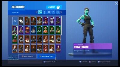 Rare Fortnite Account - Ghoul Trooper (Raffle)