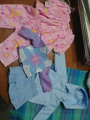 American girl 18in doll clothes lot