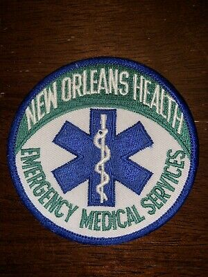 New Orleans EMS Paramedic Fire Patch