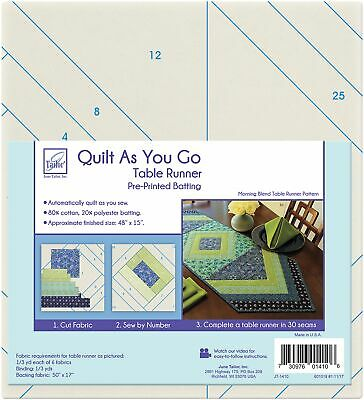 June Tailor Quilt As You Go Table Runner-Morning Blend, JT1410