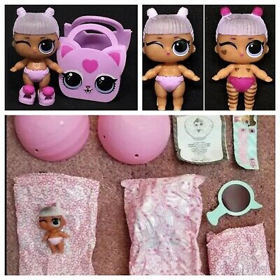 LOL Surprise Lil Daring Diva Doll Little Sister Series 4 Ball Color Changer NEW