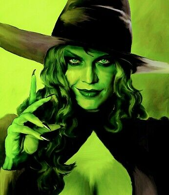 WICKED - KEY ART POSTER - wicked witch of the West 13 by 19