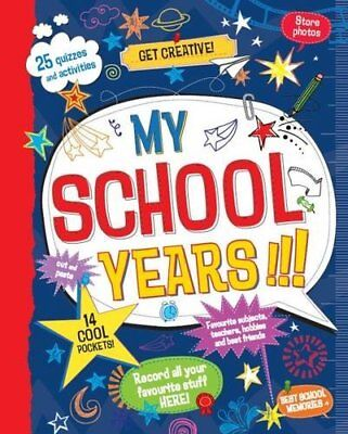 My School Years by Parragon 147480165X The Cheap Fast Free Post