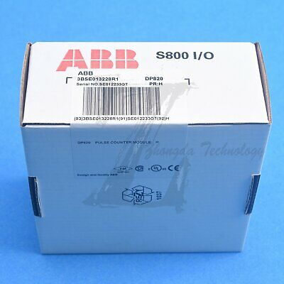 NEW ABB S800 I/O Module DP820 3BSE013228R1 Quality assurance fast delivery