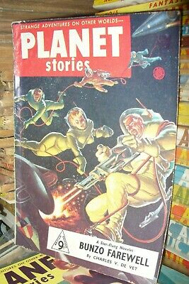 PLANET STORIES UK EDITION Nos.8 + 12 [2 ISSUES]