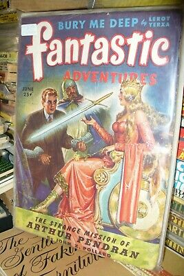 Fantastic Adventures Us Edition  April + June 1944 [ 2 Issues]